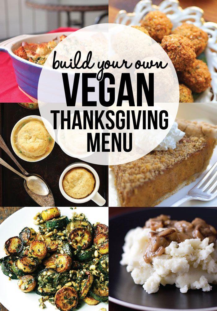 Happy Thanksgiving Vegetarian  Vegan Thanksgiving Menu Recipes Vegan