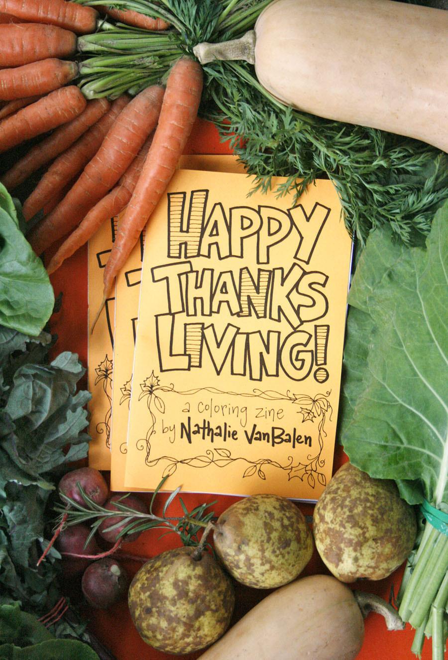 Happy Vegan Thanksgiving  Happy Thanksliving