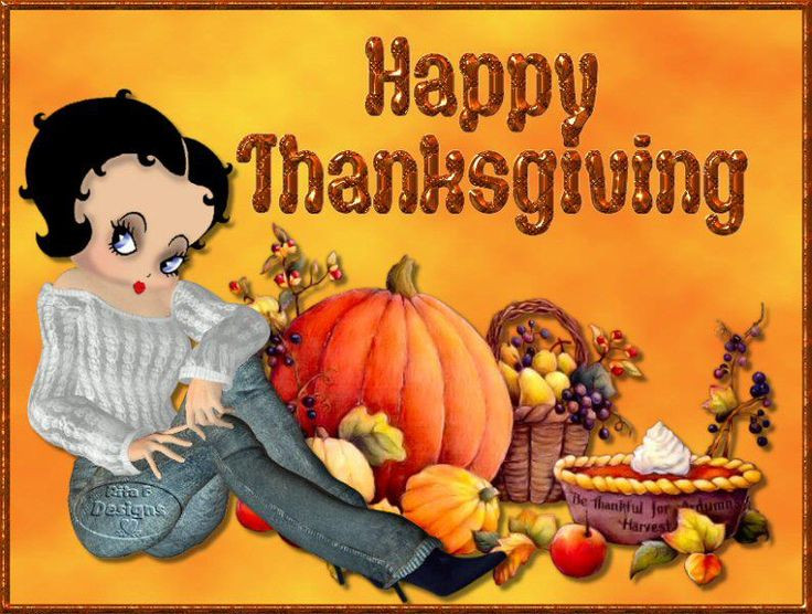 Happy Vegan Thanksgiving  211 best images about Betty Boop on Pinterest