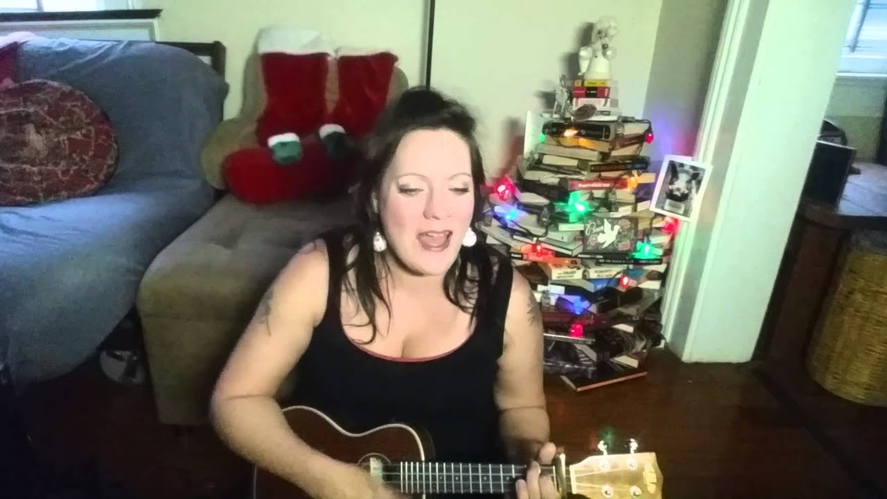 Hard Candy Christmas By Dolly Parton  Hard Candy Christmas Dolly Parton Ukulele Cover by Sally