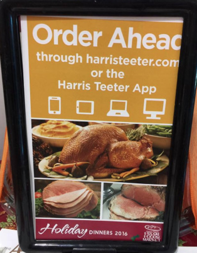 Harris Teeter Thanksgiving Dinner  Harris Teeter Holiday Dinners Let Harris Teeter do all
