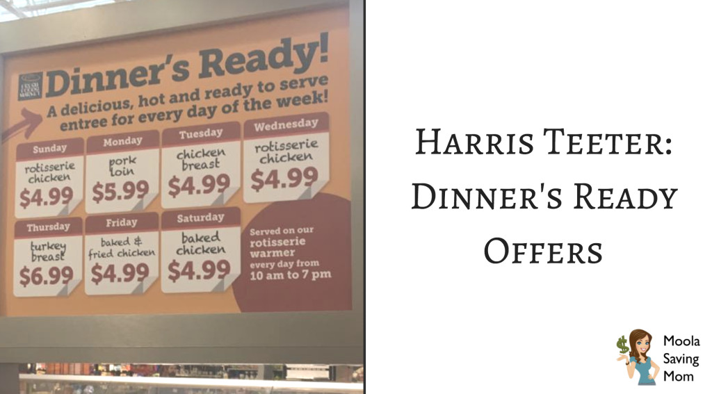 Harris Teeter Thanksgiving Dinner  Harris Teeter Dinner s Ready Deals Moola Saving Mom