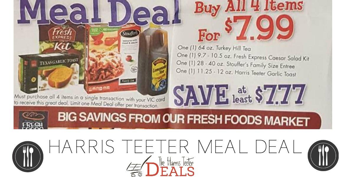 Harris Teeter Thanksgiving Dinner  Meal Deal Archives The Harris Teeter Deals