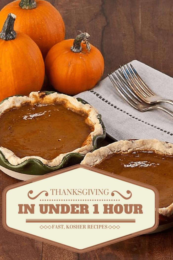 Heb Thanksgiving Dinner 2019  Cook Thanksgiving in an Hour Jamie Geller