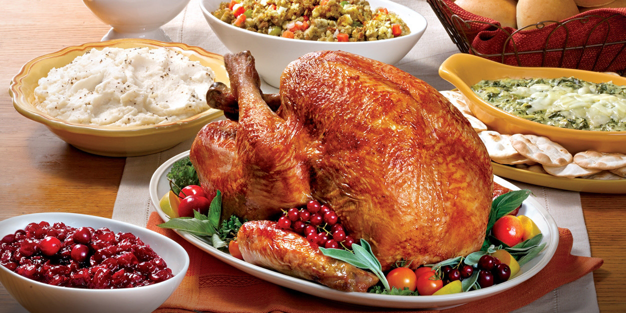 Heb Thanksgiving Dinner 2019  Healthy eating 2017 means an a balanced holiday menu