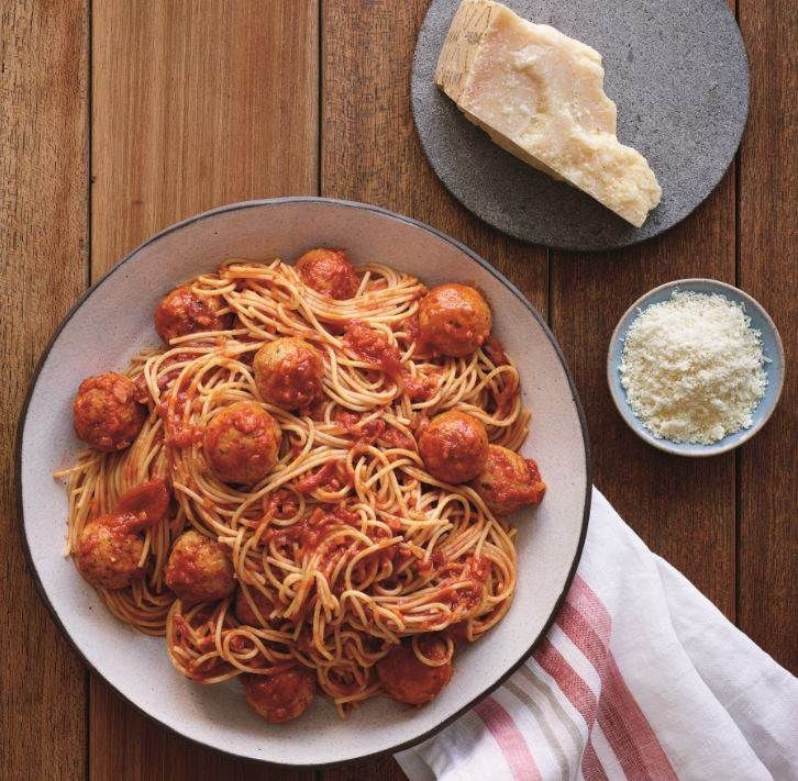 Heb Thanksgiving Dinner 2019  Pasta under 500 calories Try this spaghetti with turkey