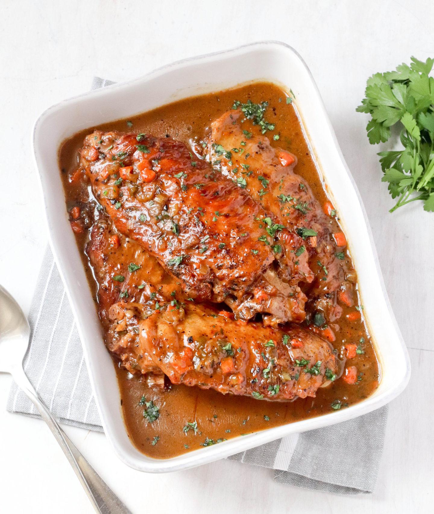 Heb Thanksgiving Dinner 2019  CAJUN TURKEY WINGS Jehan Can Cook