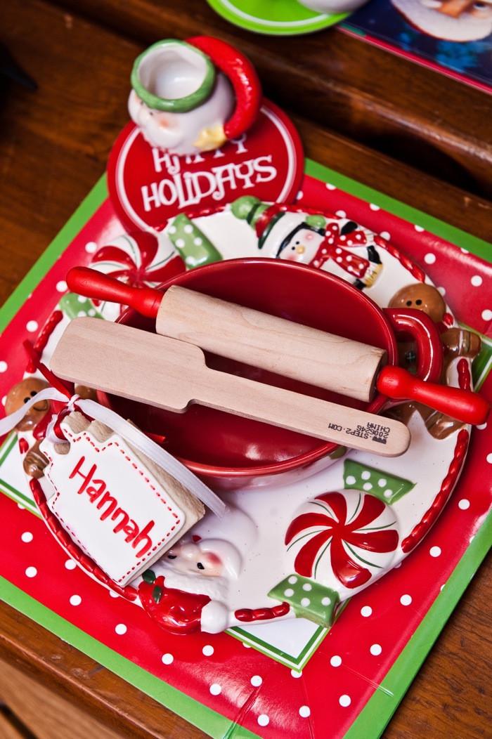 Holiday Baking Ideas Christmas  Kara s Party Ideas Santa s Kitchen Christmas Baking