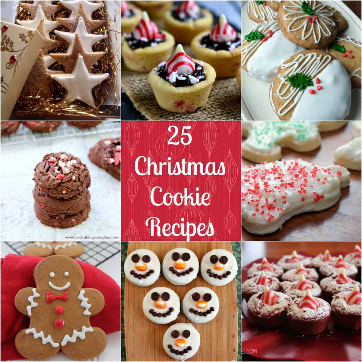 Holiday Baking Ideas Christmas  25 Christmas Cookie Recipes Love Pasta and a Tool Belt
