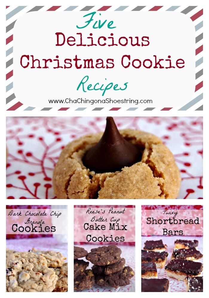 Holiday Baking Ideas Christmas  Delicious Christmas Cookie Recipes Freezer Baking