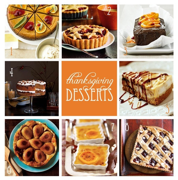 Holiday Desserts For Thanksgiving  1486 best images about thanksgiving recipes on Pinterest