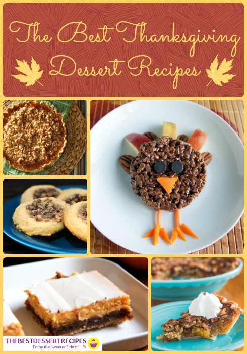 Holiday Desserts For Thanksgiving  Festive Holiday Desserts 85 Thanksgiving Dessert Recipes