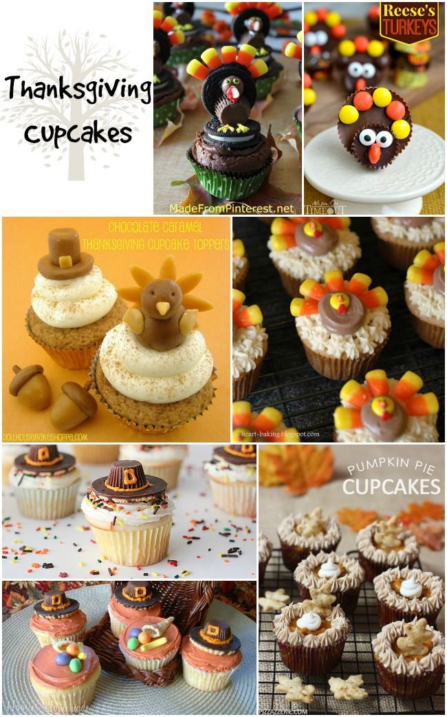 Holiday Desserts Thanksgiving  25 best ideas about Thanksgiving Cupcakes on Pinterest