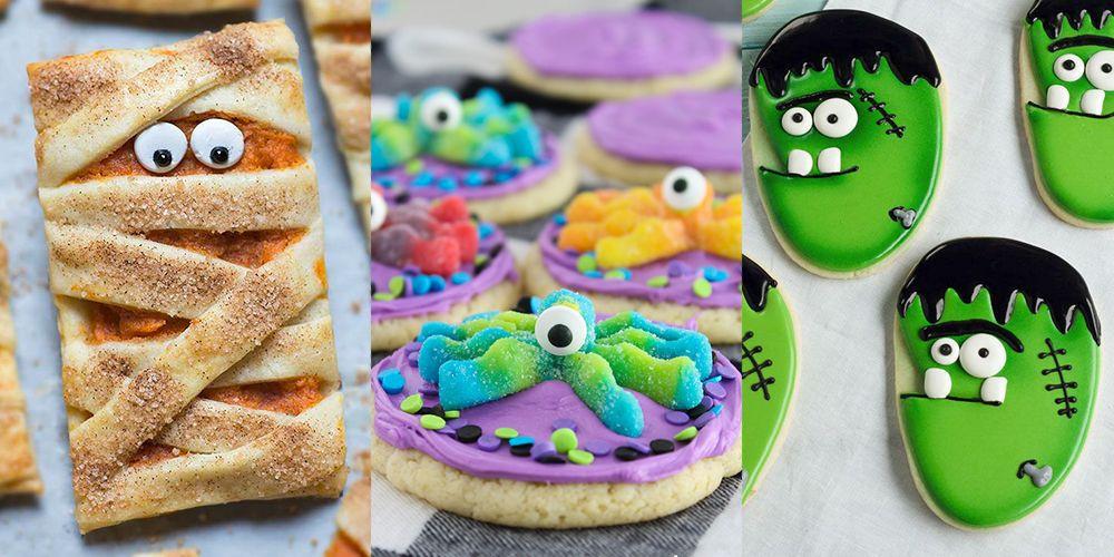Home Made Halloween Cookies  33 Homemade Halloween Cookie Ideas Recipes & Decorating