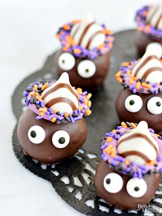 Home Made Halloween Cookies  214 best Cute Halloween Treats images on Pinterest