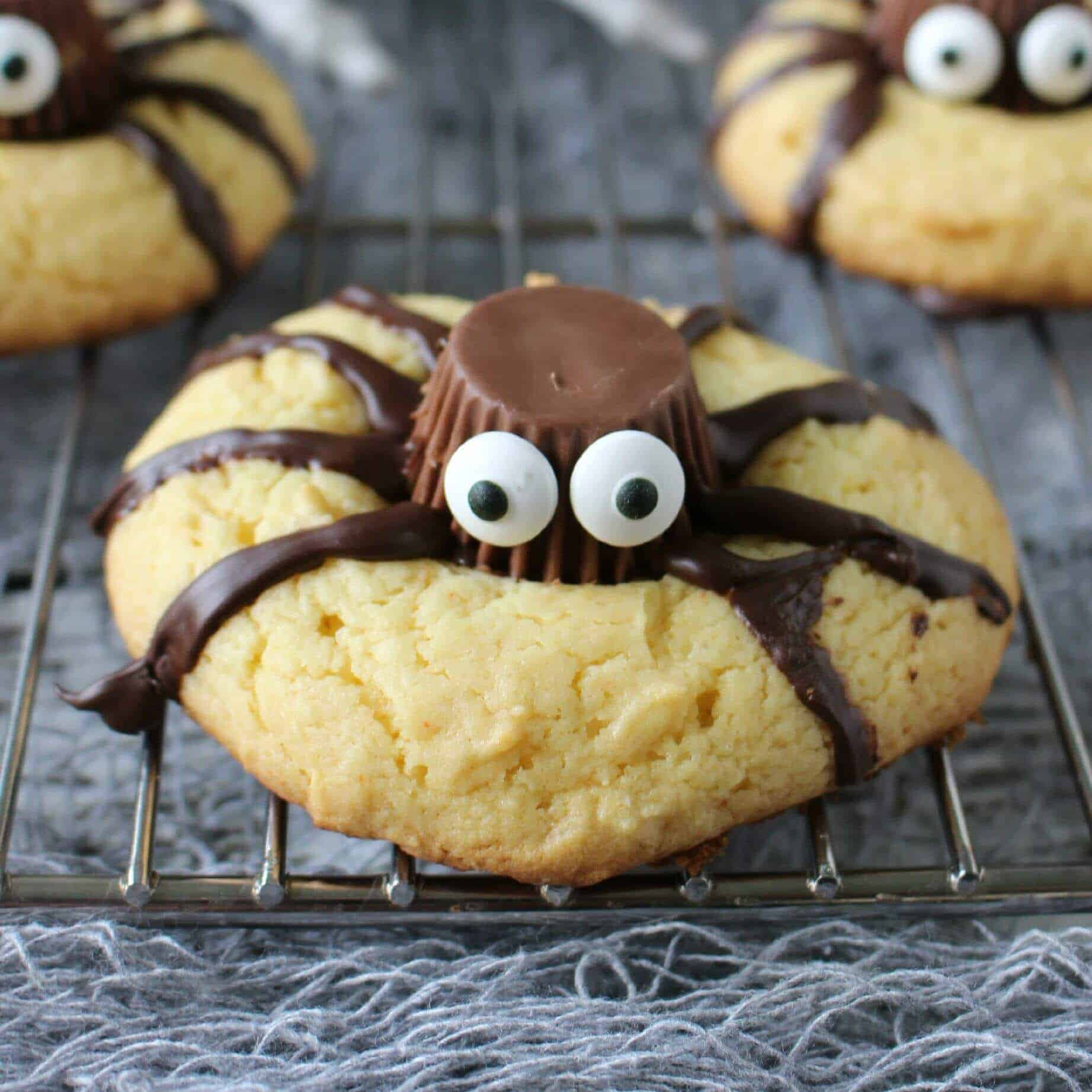 Home Made Halloween Cookies  Easy Halloween Spider Cookies Page 2 of 2 Princess