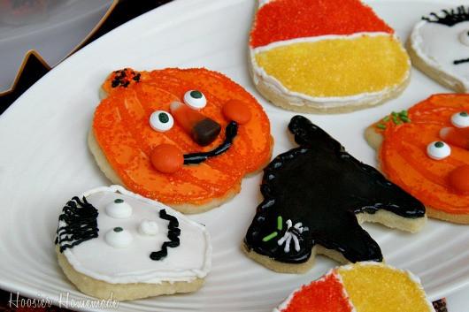 Home Made Halloween Cookies  Halloween Sugar Cookies Hoosier Homemade