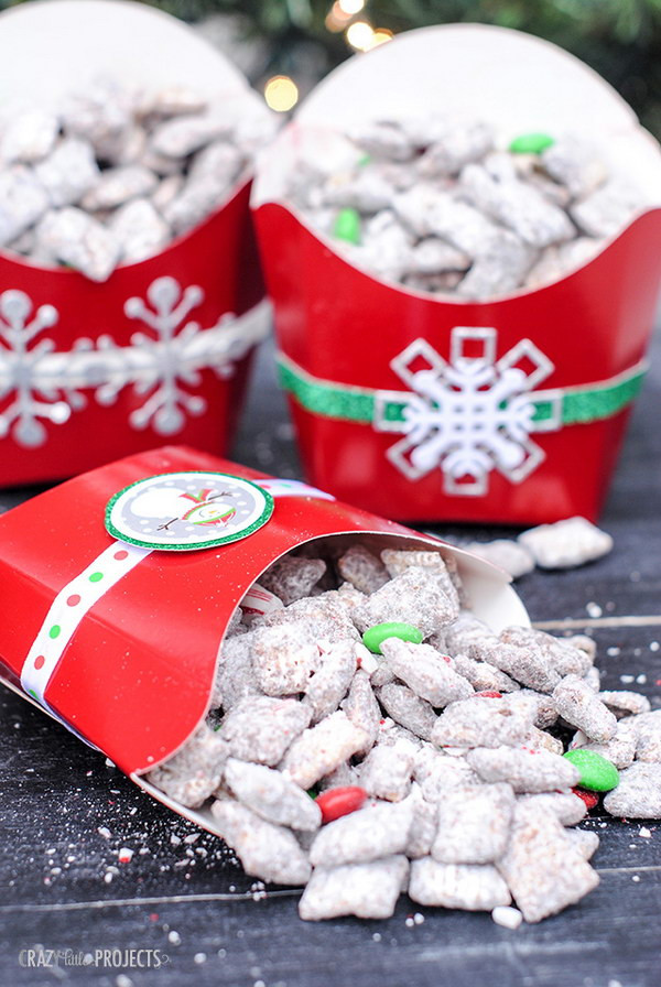 Homemade Christmas Candy Gifts  20 Awesome DIY Christmas Gift Ideas & Tutorials