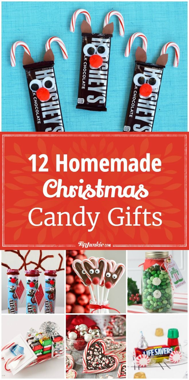 Homemade Christmas Candy Gifts  25 unique Cute christmas ts ideas on Pinterest
