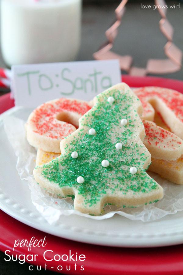 Homemade Christmas Sugar Cookies  DIY Mint Sugar Scrub & Holiday Gift Ideas Love Grows Wild