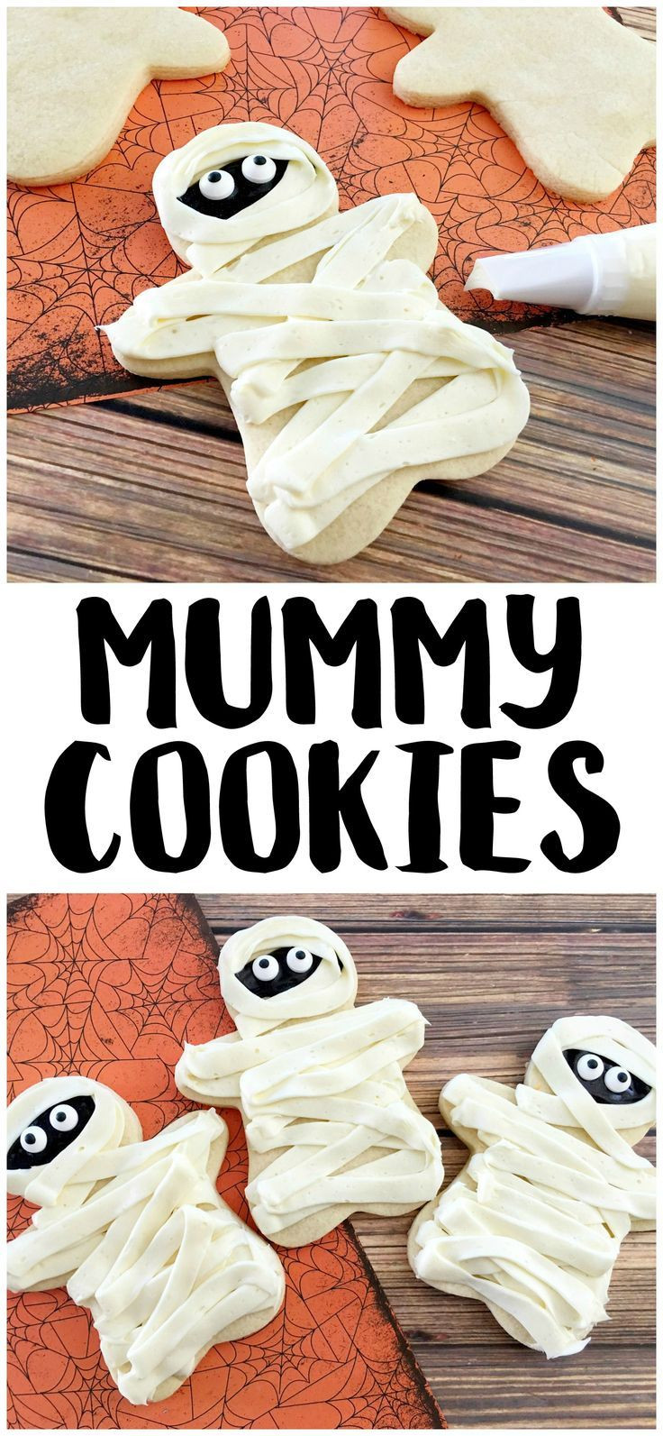 Homemade Halloween Cookies  1084 best Halloween Foods images on Pinterest