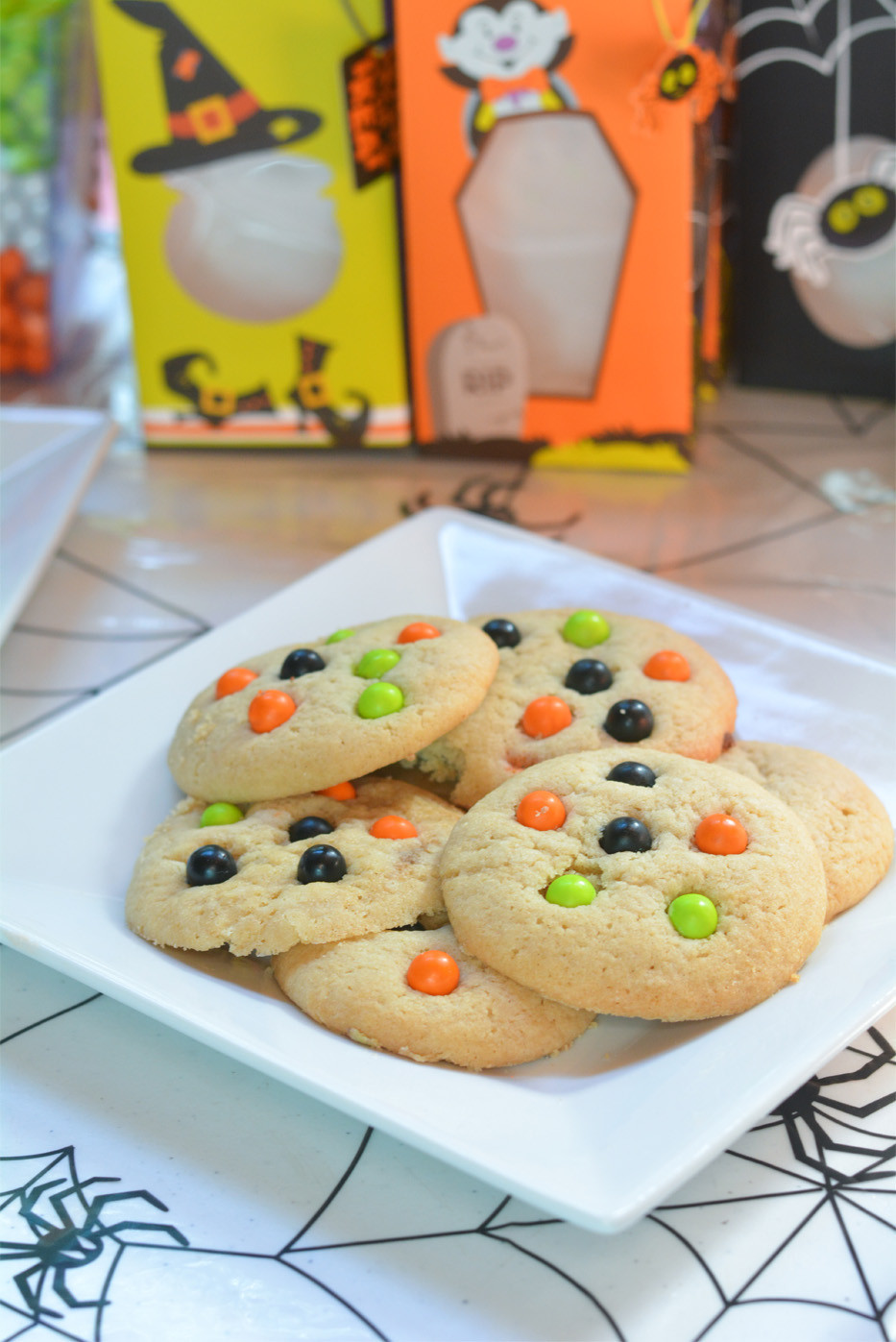 Homemade Halloween Cookies  Spooky Monster Cookies Mommy s Fabulous Finds