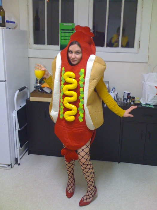 Hot Dog Halloween Costume For Dogs  18 Outdoor Inspired Halloween Costumes 50 Campfires