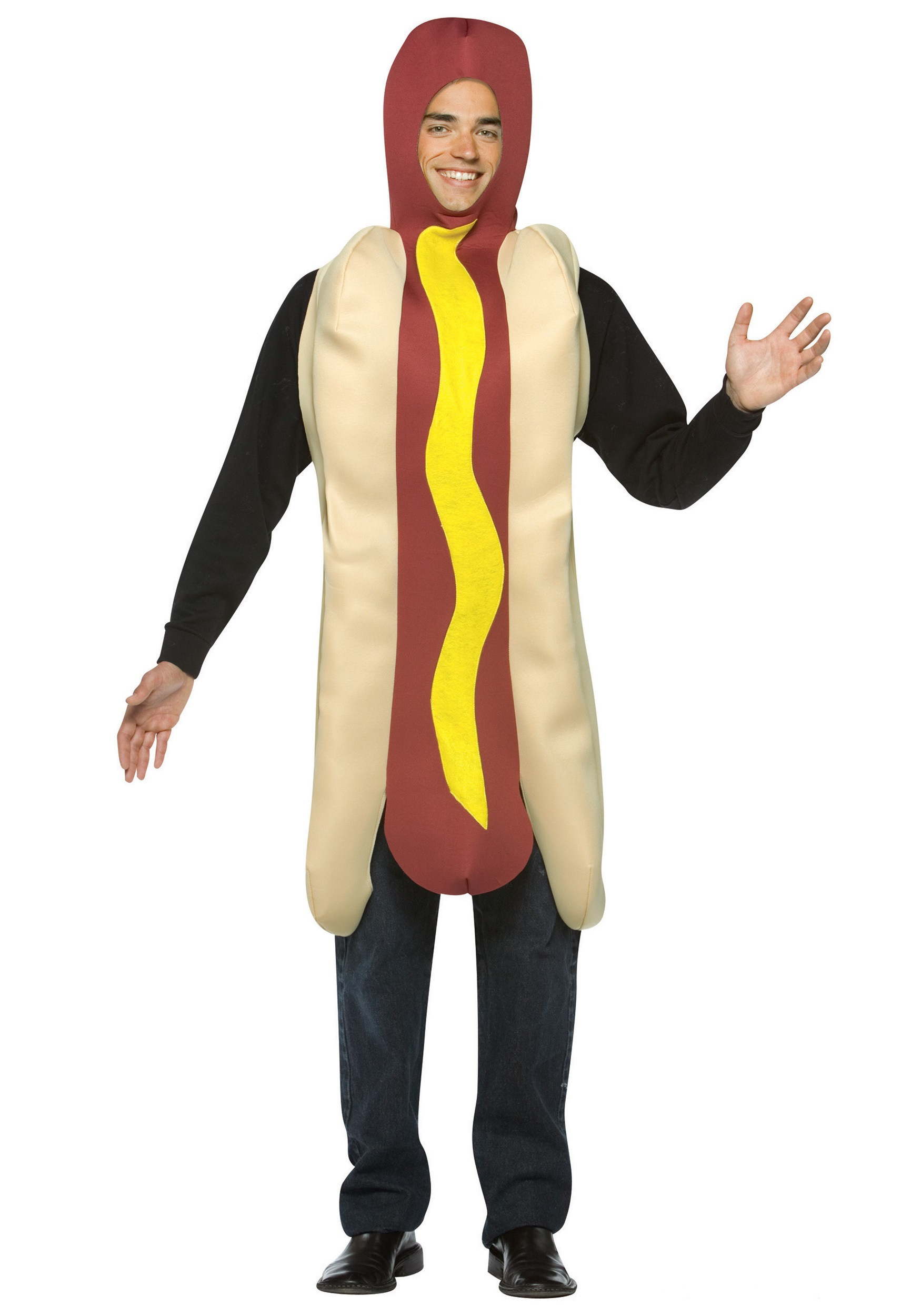 Hot Dog Halloween Costume For Dogs  Adult Hot Dog Costume