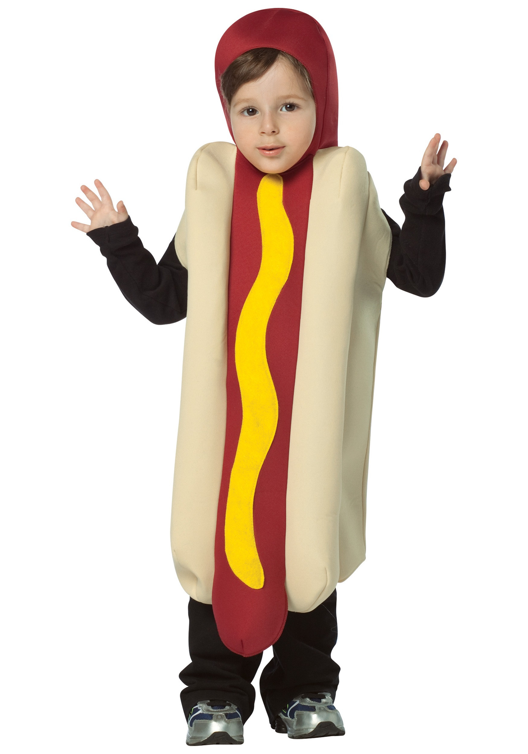 Hot Dog Halloween Costume For Dogs  Toddler Hotdog Costume Food Costumes Funny Costumes