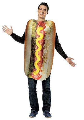 Hot Dog Halloween Costumes For Dogs  Adult Get Real Loaded Hot Dog Costume
