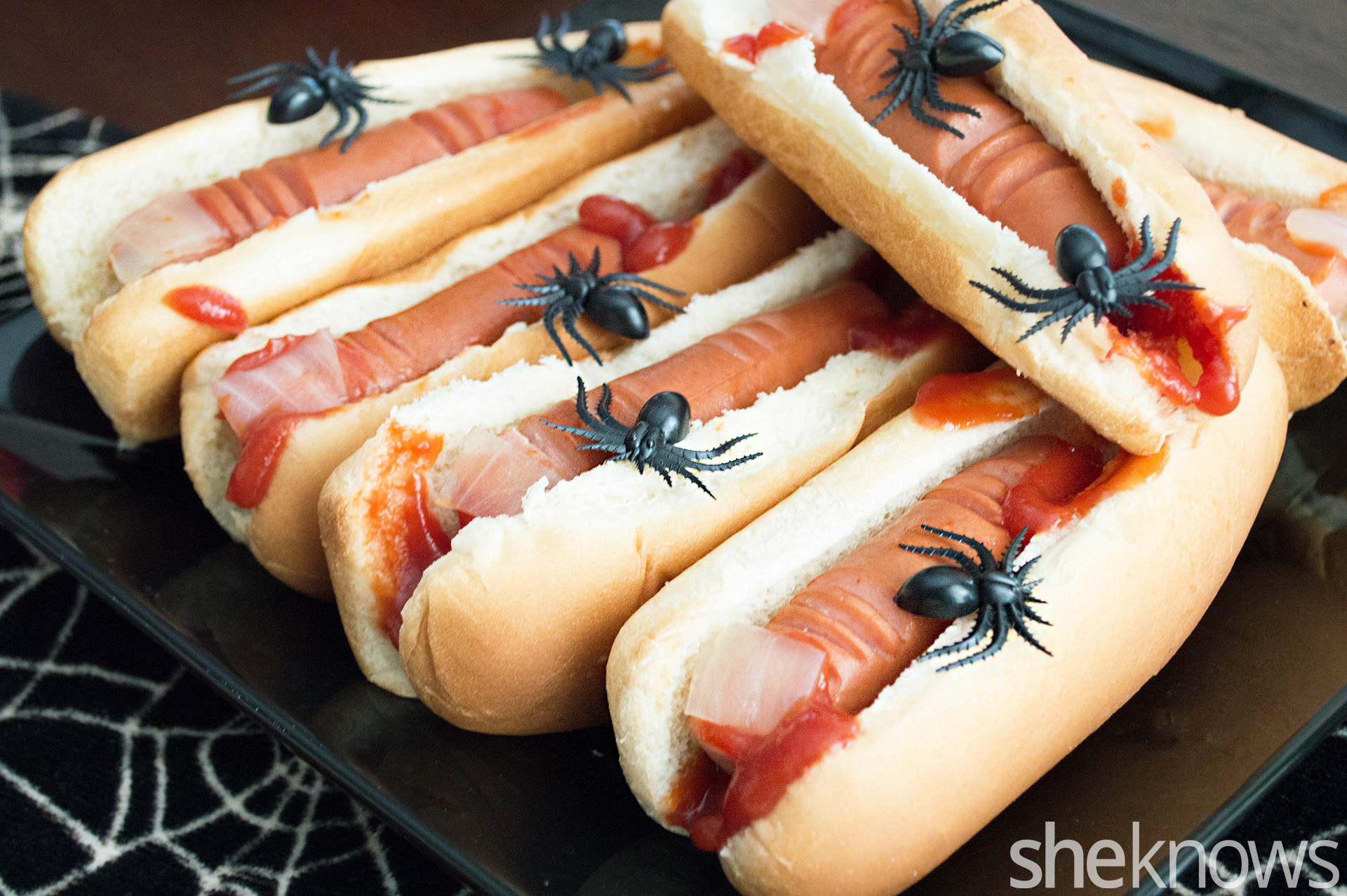 Hot Dogs Halloween  A Halloween Party Ain t a Halloween Party Without These