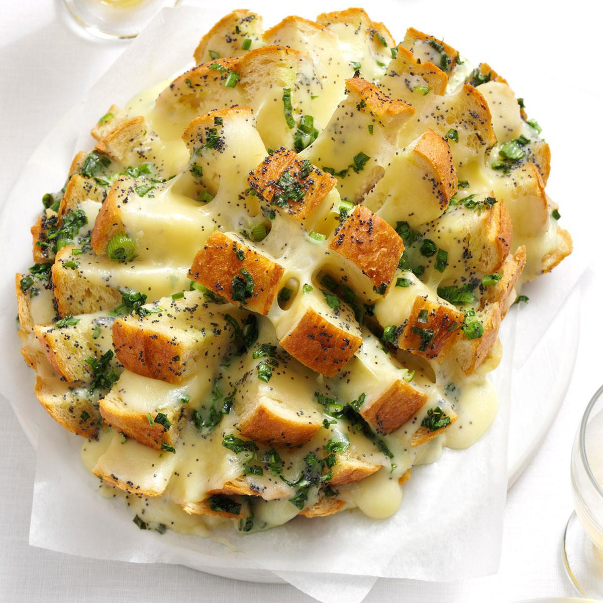 Hot Thanksgiving Appetizers  Savory Party Bread Recipe