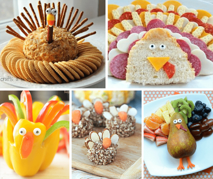 Hot Thanksgiving Appetizers  THANKSGIVING APPETIZERS 20 fun turkey themed snacks