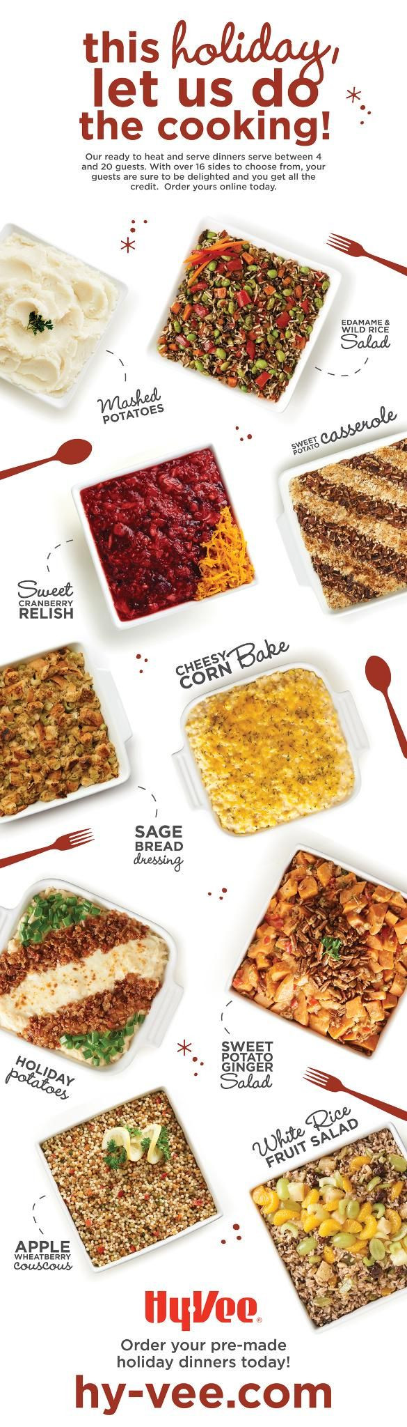 Hy Vee Thanksgiving Dinner  This Thanksgiving let Hy Vee do all the cooking Choose