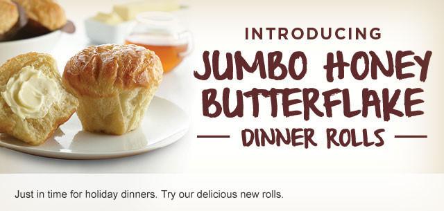Hy Vee Thanksgiving Dinner  Jumbo Honey Butterflake Dinner Rolls