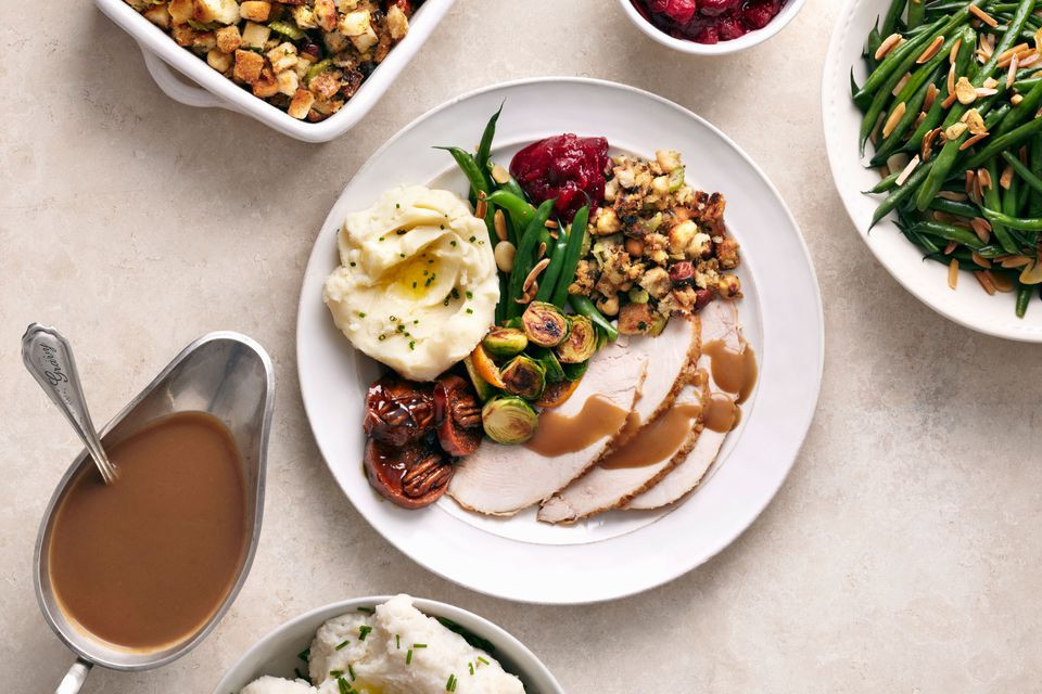 Hy Vee Thanksgiving Dinner To Go 2019  Thanksgiving Dinner Menu for Two