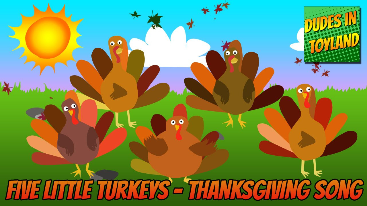 I Will Survive Thanksgiving Turkey Song  Five Little Turkeys Thanksgiving songs for children