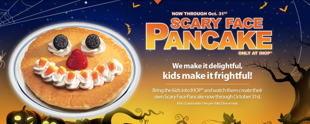 Ihop Free Pancakes Halloween  Halloween Archives Freebies2Deals