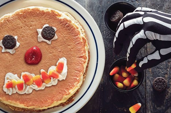 Ihop Free Pancakes Halloween  Free Scary Face Pancakes Halloween At IHOP My DFW Mommy