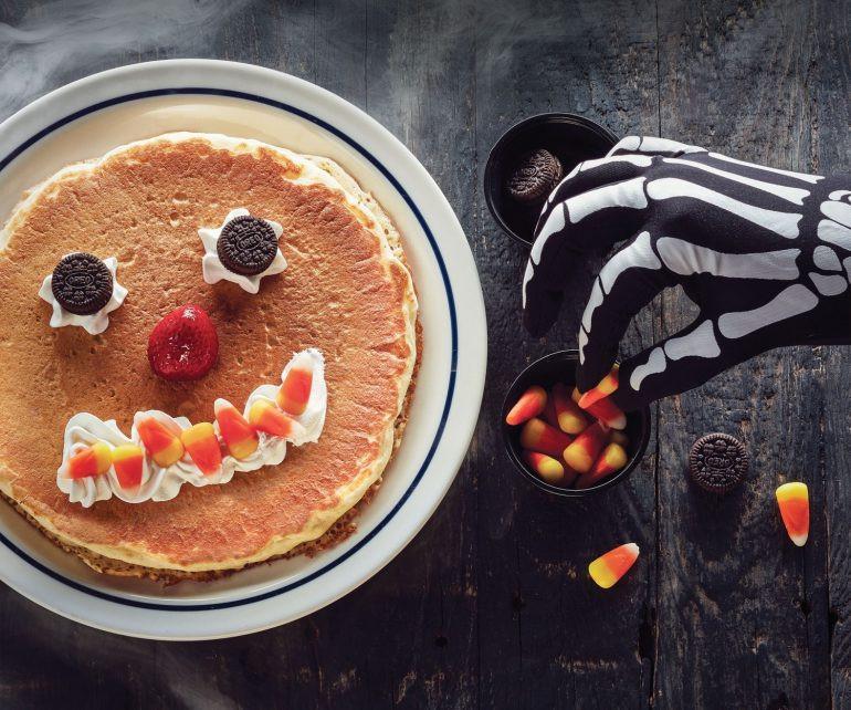 Ihop Free Pancakes Halloween  Kids Get A Free Spooky Pancake From IHOP Halloween DWYM