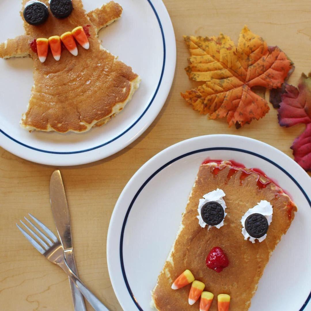 Ihop Halloween Free Pancakes 2019  Freebies Spooky Pancakes at IHOP food lunch pastry