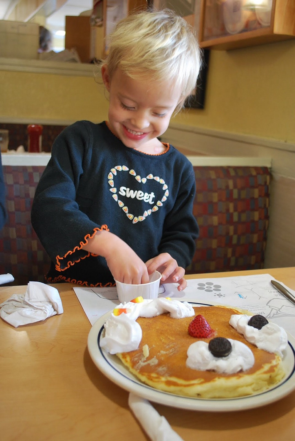 Ihop Halloween Free Pancakes 2019  Halloween Special For Kids at IHOP by Lindsey Holmes Musely