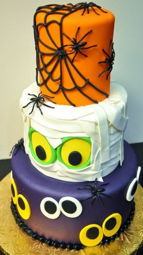 Images Of Halloween Cakes  Halloween Cake Decor – Mad Cakes Ideas – Fresh Design Pedia