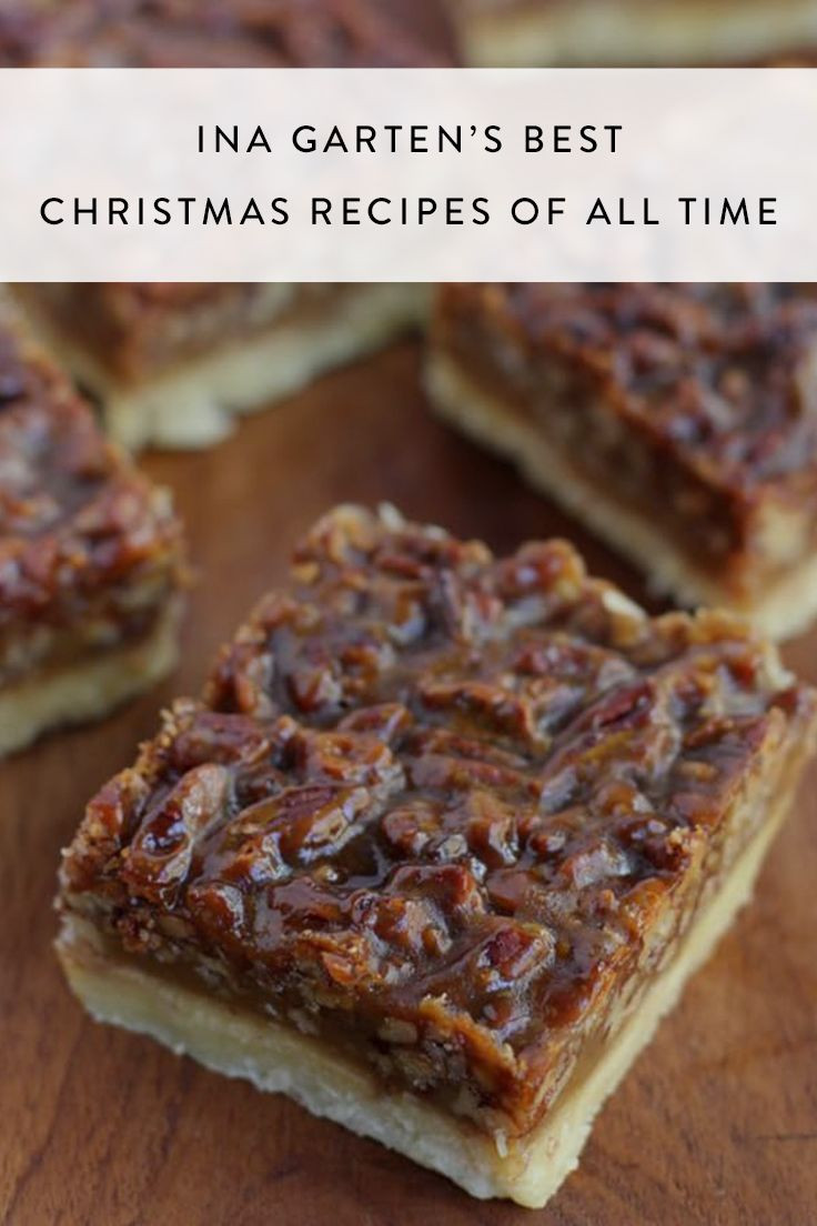 Ina Garten Christmas Desserts  1055 best Barefoot Contessa Recipes I love images on