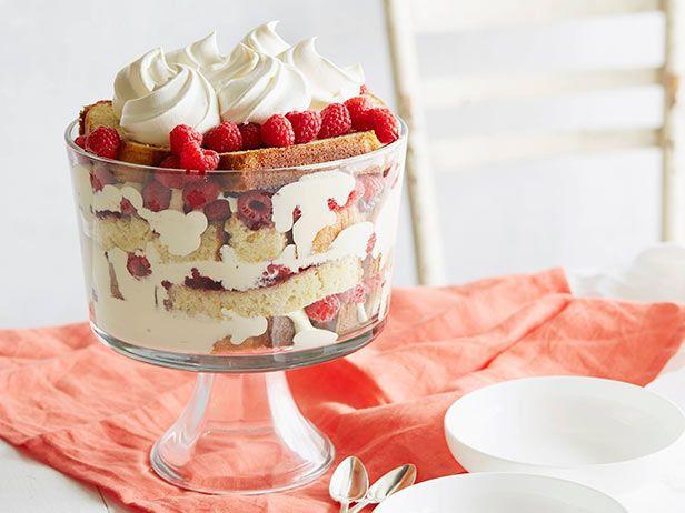 Ina Garten Christmas Desserts  Raspberry Orange Trifle Recipe