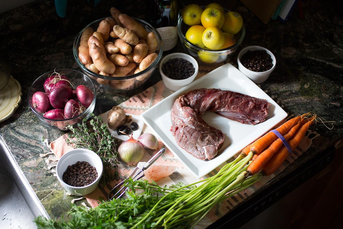 Ingredients For Thanksgiving Turkey  The Deer Hunter s Thanksgiving Favorite Venison