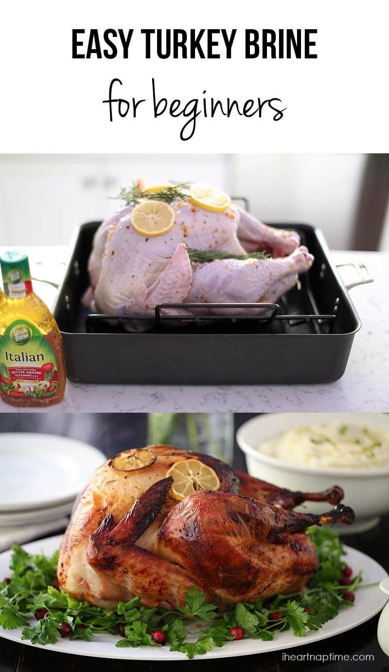 Ingredients For Thanksgiving Turkey  EASY 3 Ingre nt Turkey Brine Recipe I Heart Naptime