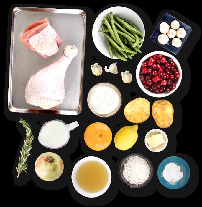 Ingredients For Thanksgiving Turkey  Recipe Thanksgiving Dinner Blue Apron