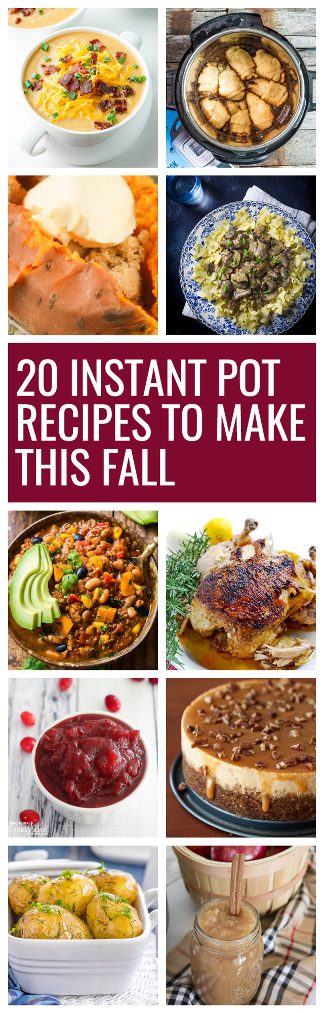 Instant Pot Fall Recipes  20 Fall Instant Pot Recipes