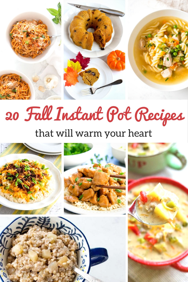 Instant Pot Fall Recipes  Easy and Delicious Instant Pot Soup Recipes to Warm Your Heart